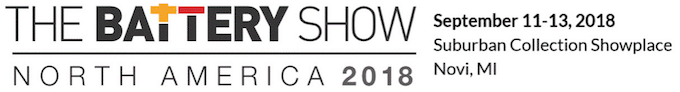 The Battery Show 2018